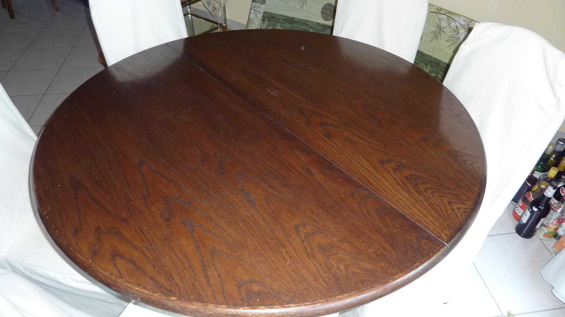 Table de salle manger en ch ne vendre blog ench res en ligne - Table de salle a manger a vendre ...