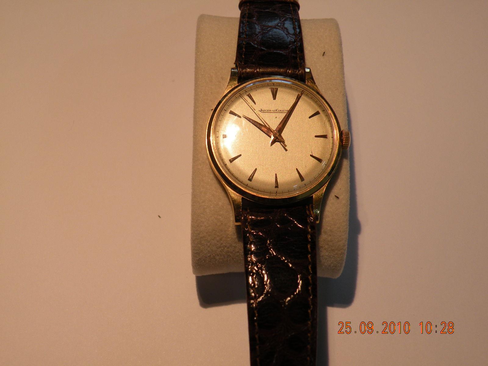 lecoultre montre bracelet or 18 carat pour homme sur. Black Bedroom Furniture Sets. Home Design Ideas