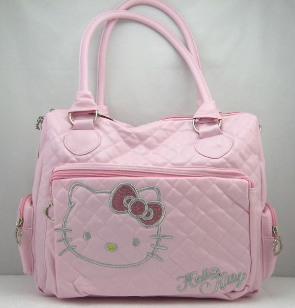 Bombé Hello Sac Rose À Adjuger Main Kitty ch Sur hCtQrxsd