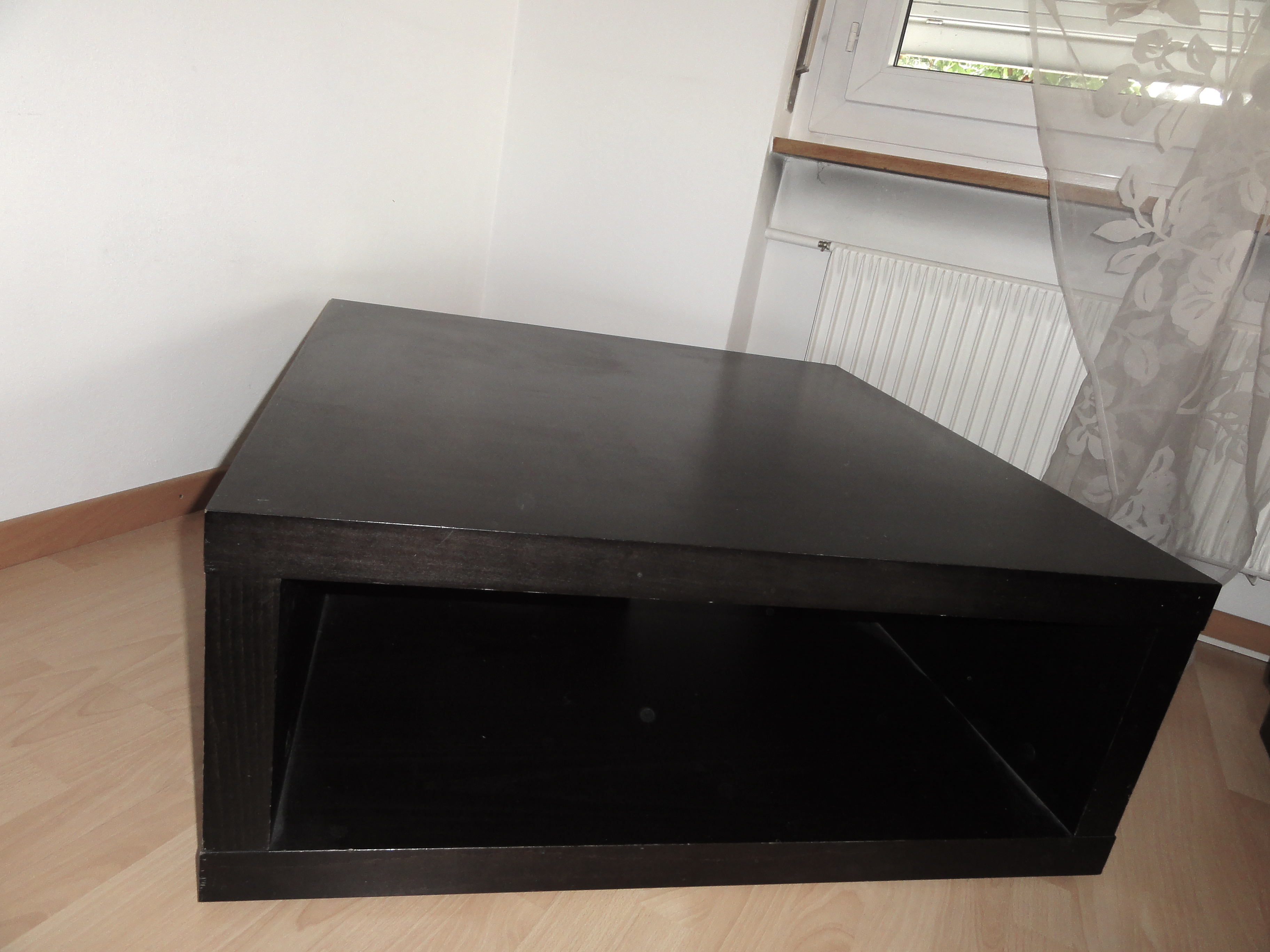 Table Basse Brun Noir Homeezy